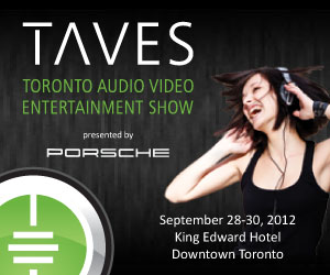 Kudos at TAVES Show in Toronto: 28-30 September