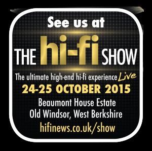 Kudos Audio at The Hi-Fi Show Live: 24-25 October 2015