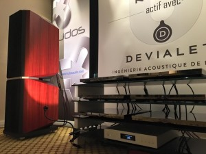 Kudos to 'go active' again at Acoustica Show… this time with Naim!