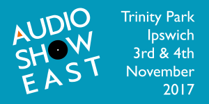 Join Kudos at Audio Show East, Ipswich, 3rd-4th November 2017