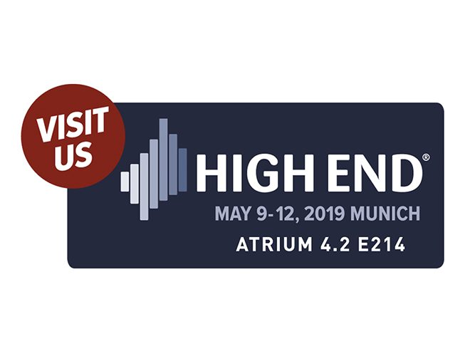 Munich High End, 9th-12th May 2019