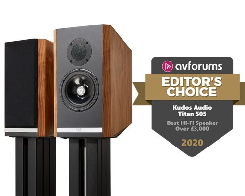 Titan 505 announced as Best Hi-Fi Speaker over £3k by AVForums!